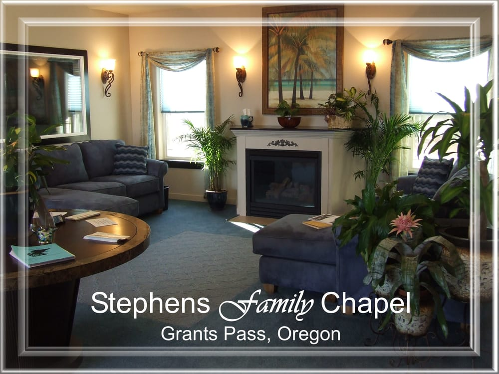 Stephens Family Chapel: 1629 Williams Hwy, Grants Pass, OR