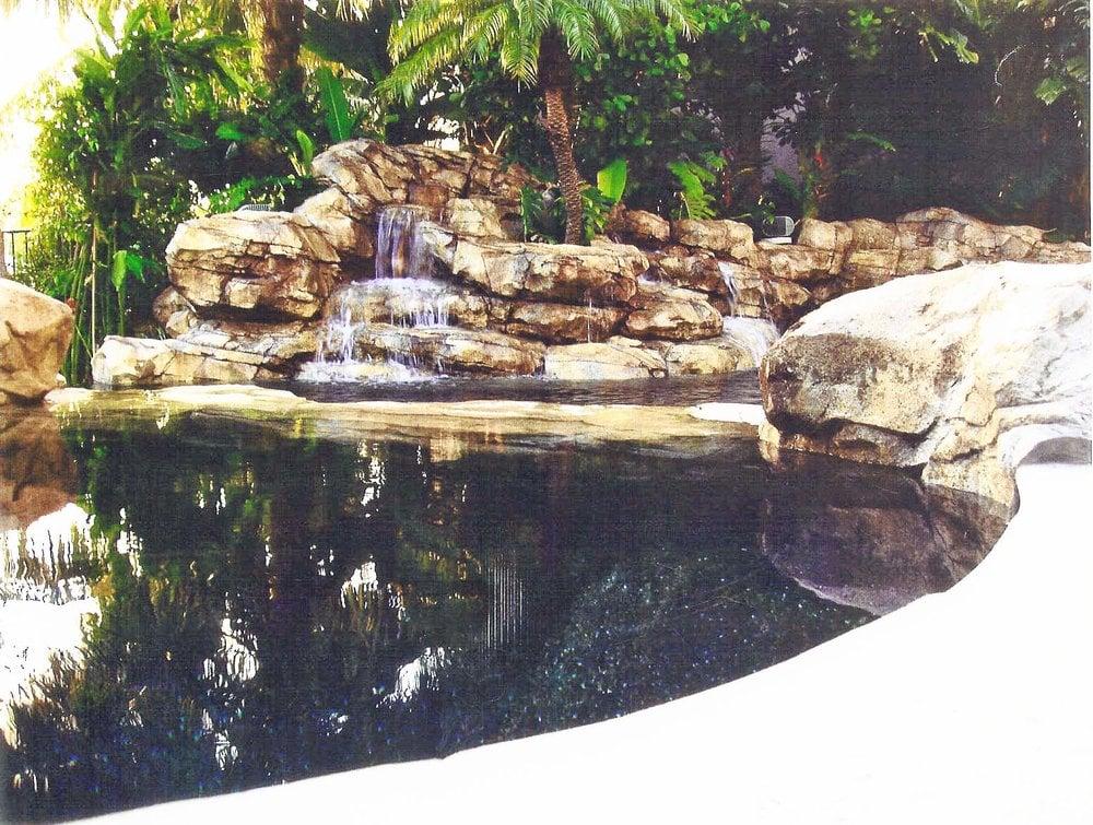 Lagoon Black Bottom Pebble Reflecting Pool Yelp