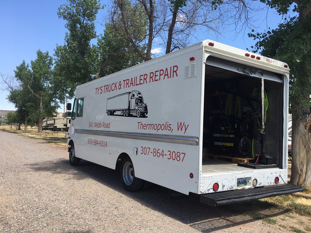 Ty's Truck & Trailer Repair: 541 Webb Rd, Thermopolis, WY