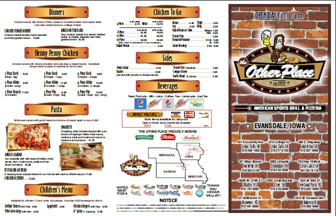 The Other Place: 3904 Lafayette Rd, Evansdale, IA