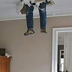 Photo Of A Wall Ceiling Repair Virginia Beach Va United
