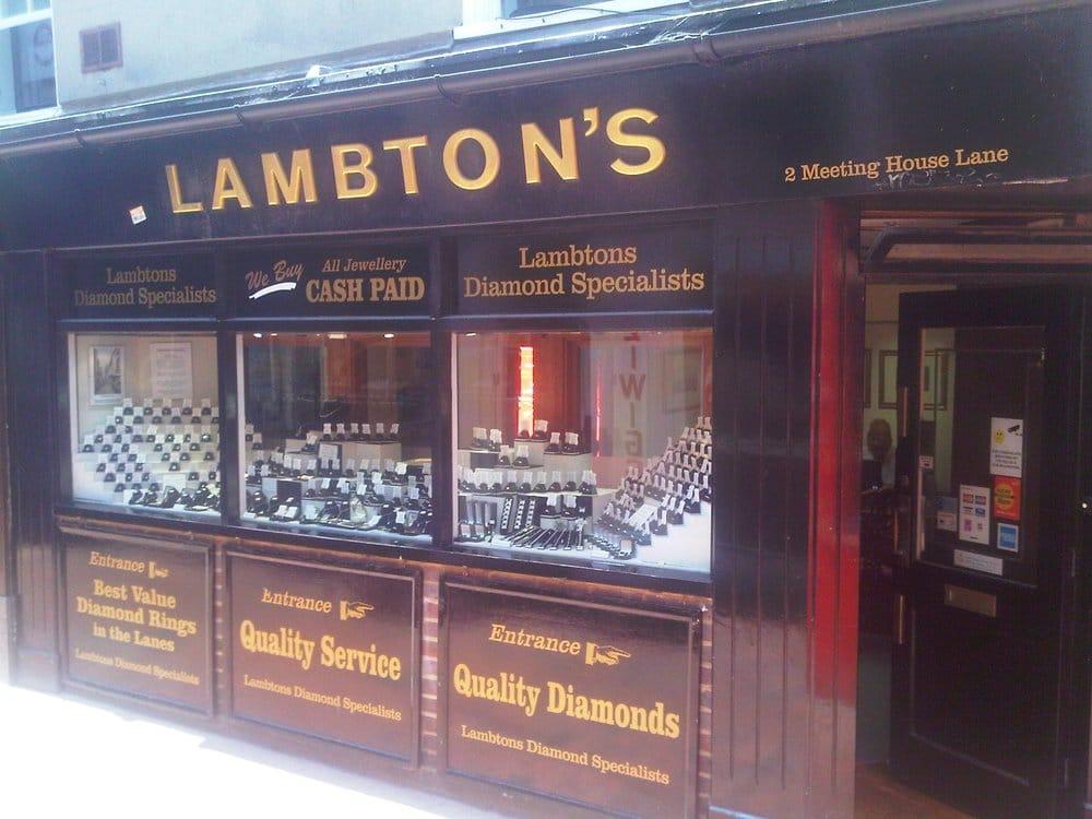 Lambton's Jewellers Jewelry 2 Meeting House Lane Brighton United Kingdo