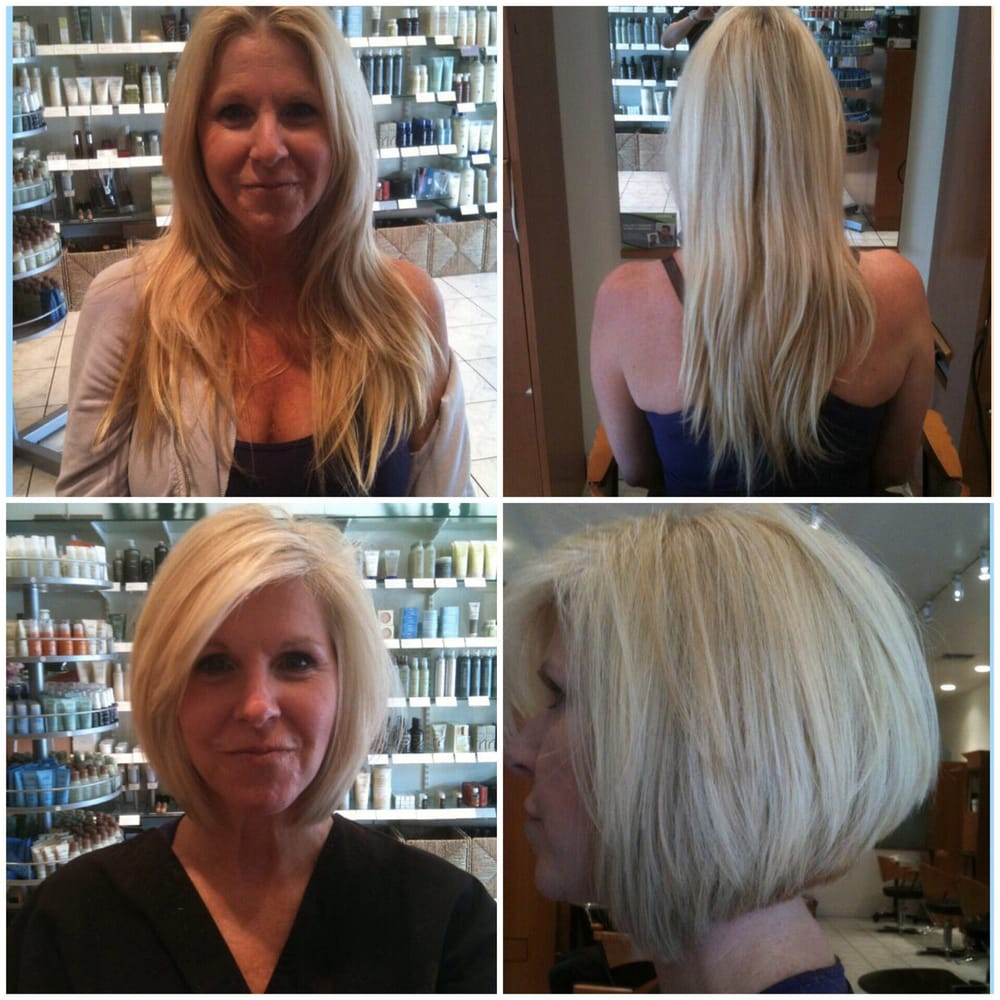 Lisa Schleuniger Pangaro Total Hair Cut Make Over From Long To Short