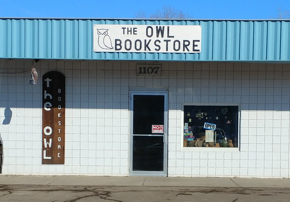 Owl Bookstore: 1107 S 12th St, Bismarck, ND