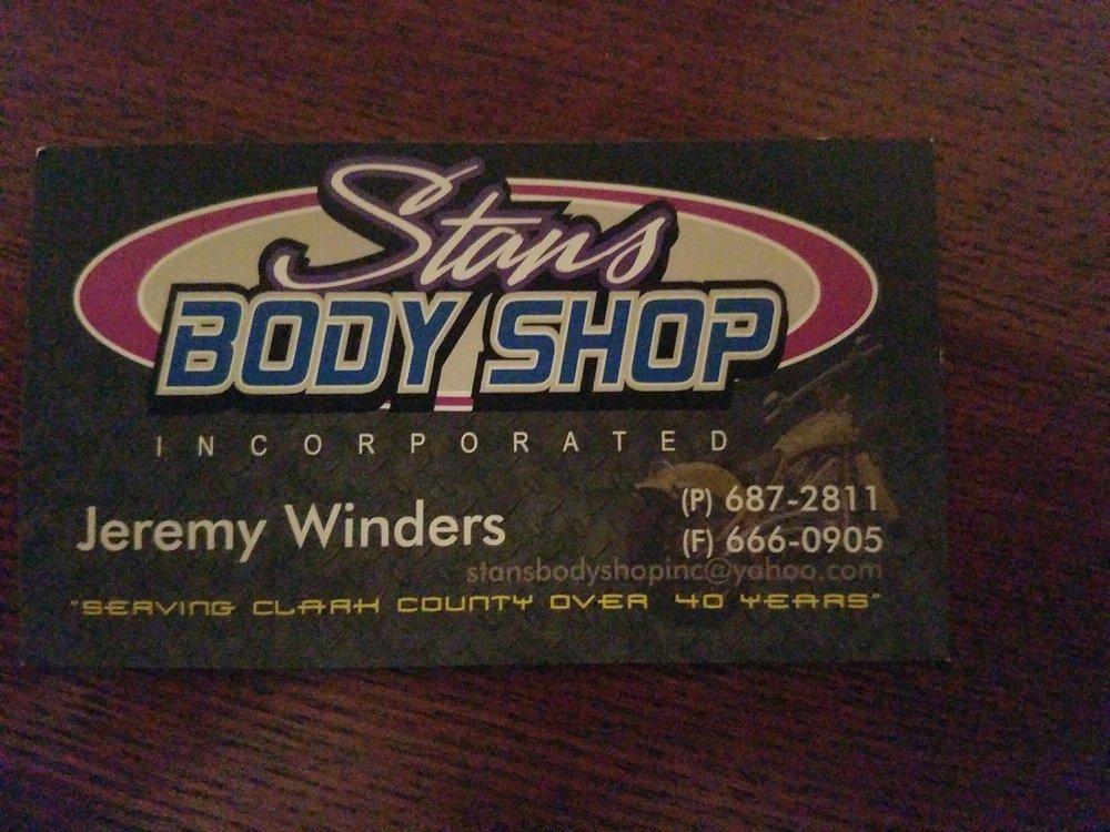 Stan's Body Shop: 715 SE 1st St, Battle Ground, WA