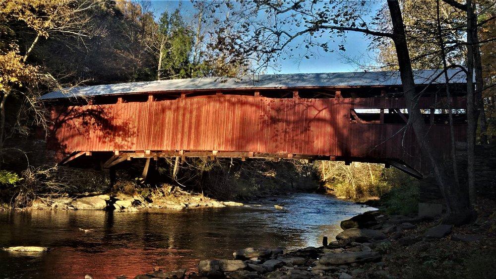 Josiah Hess Covered Bridge: Winding Rd, Orangeville, PA