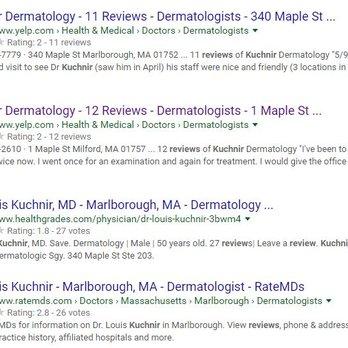 Kuchnir Dermatology - 28 Reviews - Dermatologists - 1 Maple
