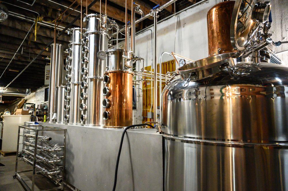 Wood's High Mountain Distillery: 144 W 1st St, Salida, CO