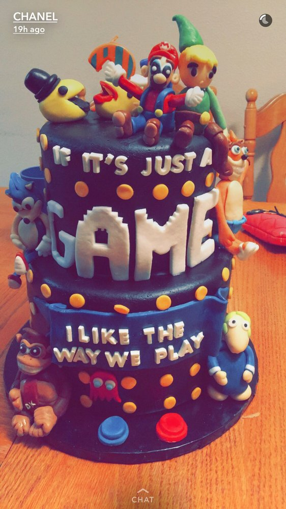 Djs 21st Birthday Gamer Cake So Awesome Yelp