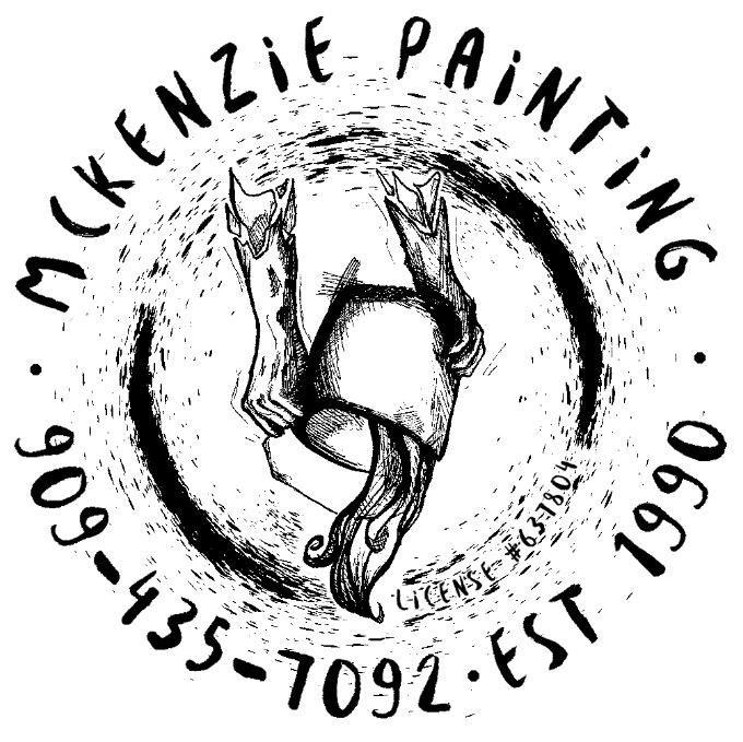 Steve McKenzie's Painting: 2718 Mill Creek Rd, Mentone, CA