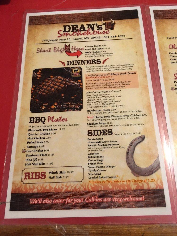 Lou's Steakhouse: 746 Jasper Hwy 15, Laurel, MS