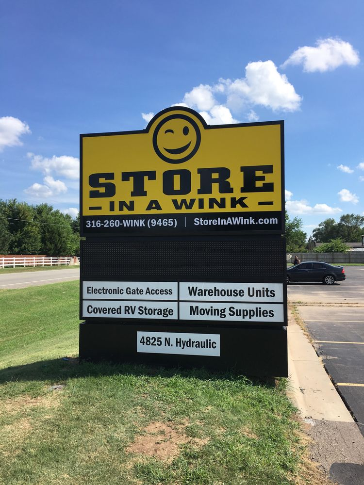 Store in a Wink: 4825 N Hydraulic Ave, Park City, KS