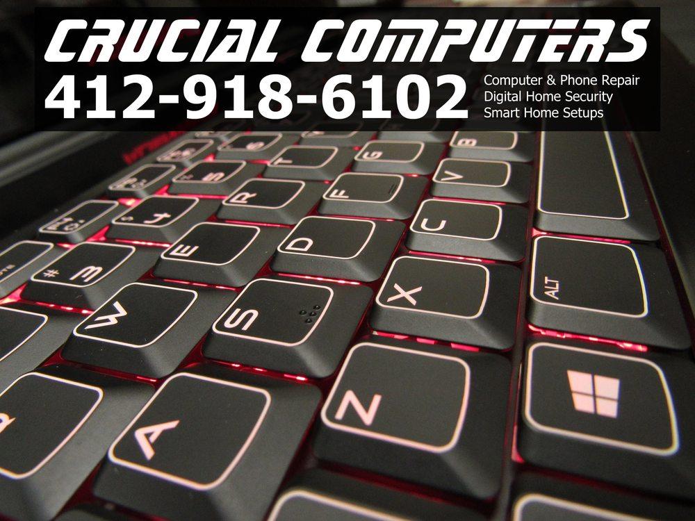 Crucial Computers: 731 Prospect St, Brakenridge, PA