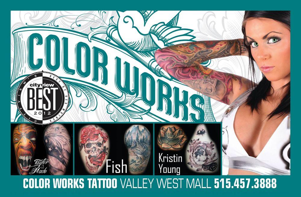Color Works: 1551 Valley West Dr, West Des Moines, IA