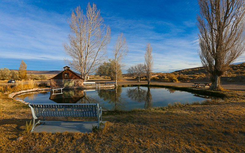 Sheldon National Wildlife Refuge Public Campground: Gerlach, NV