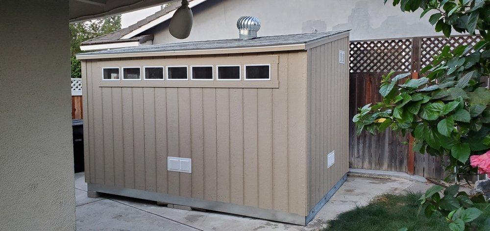 Tuff Shed: 850 W Foothill Blvd, Azusa, CA