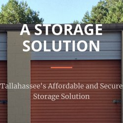 Photo of A Storage Solution - Tallahassee FL United States. Self-Storage & A Storage Solution - Self Storage - 2454 Centerville Rd Tallahassee ...