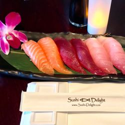 Image result for sushi delight salmon, tuna, fish torrance