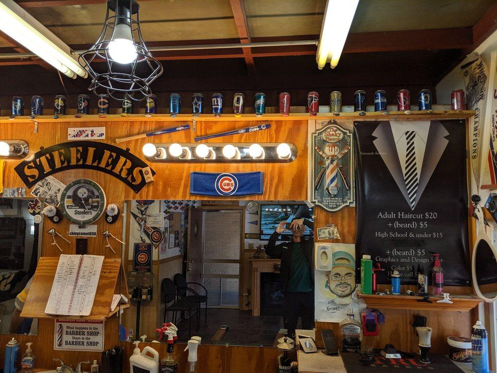 Vinny's Barbershop: 517 4th Ave, Rochelle, IL