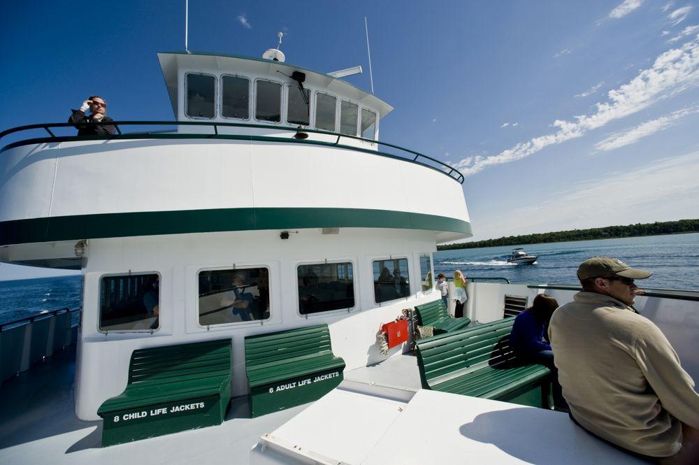 Beaver Island Boat Company: 103 Bridge Park Dr, Charlevoix, MI
