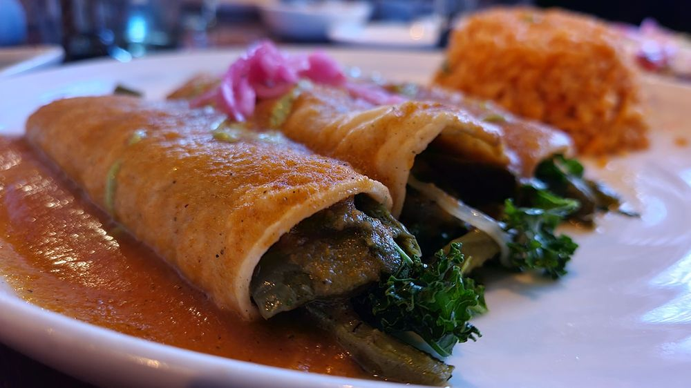 Food from La Charla Restaurant