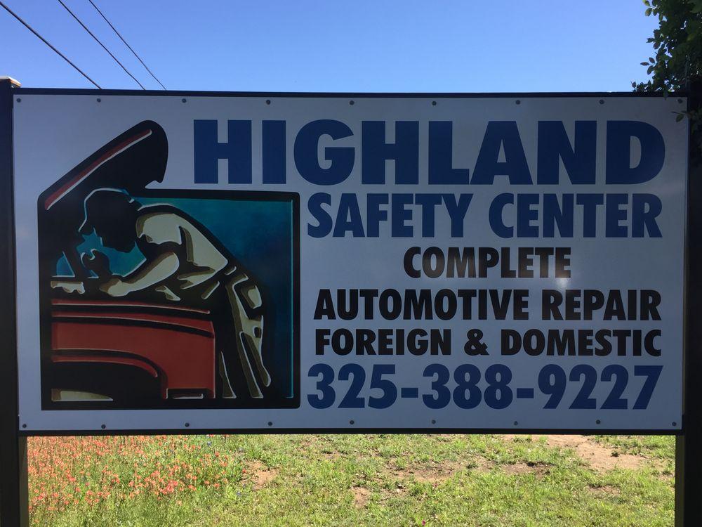 Highland Safety Center: 4401 RR 1431 W, Kingsland, TX