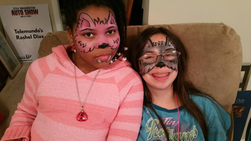 About Face Face Paint: 14109 Brandywine Road, Brandywine, MD