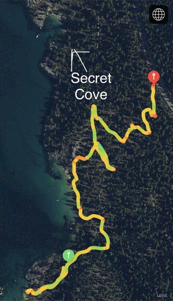 Whale Beach Trail: Carson City, NV