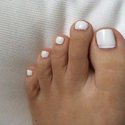Honey browns erotic toenails