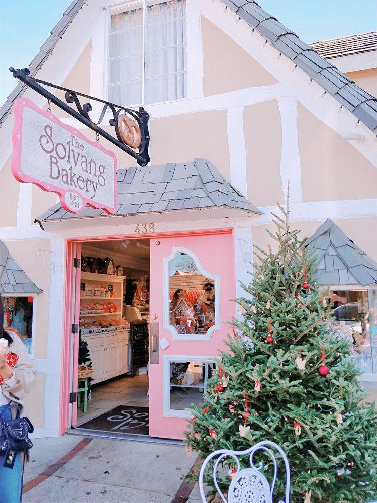 Solvang Ca Christmas.Cute Exterior Meh Pastries Yelp
