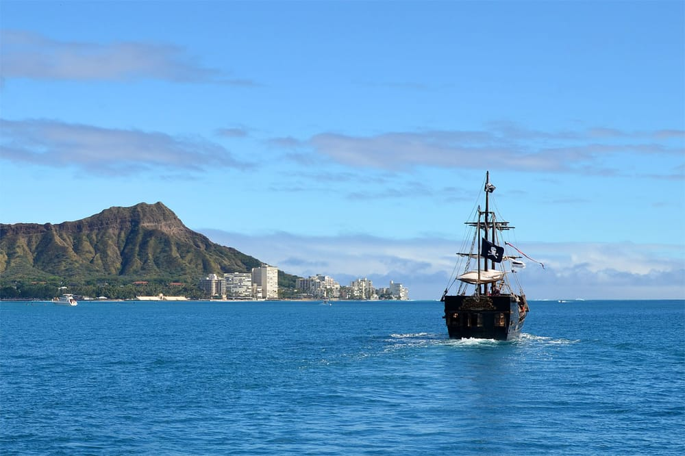 Not A Bad Place To Cruise Yelp - Pirate ship cruise hawaii