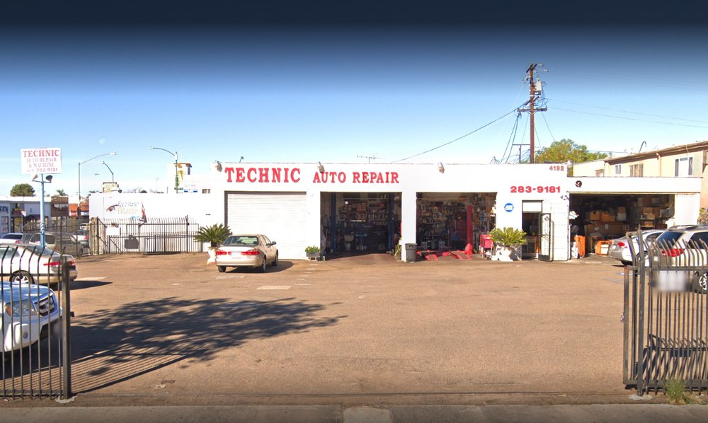 Technic Auto Repair: 4192 University Ave, San Diego, CA