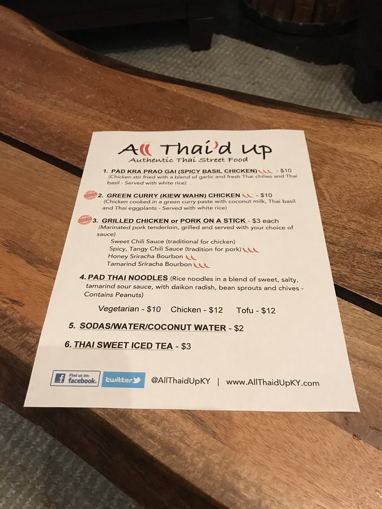 All Thai'd Up: Louisville, KY