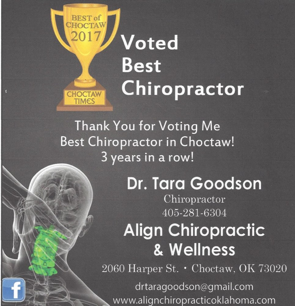 Align Chiropractic and Wellness: 2060 Harper St, Choctaw, OK