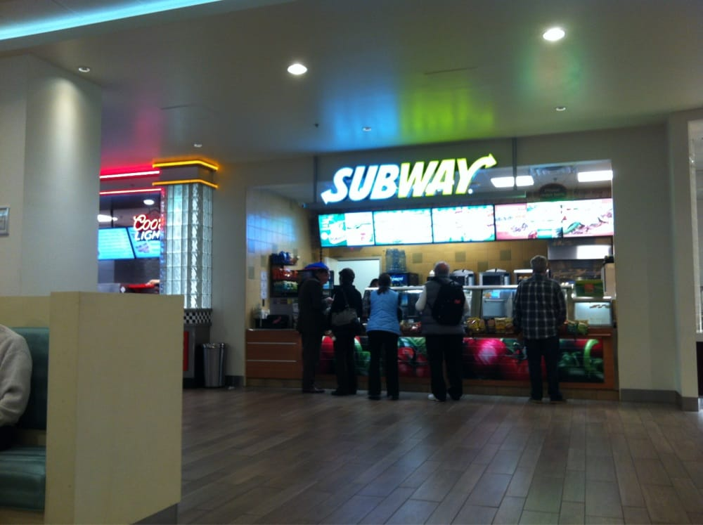 Subway restaurant on las vegas strip