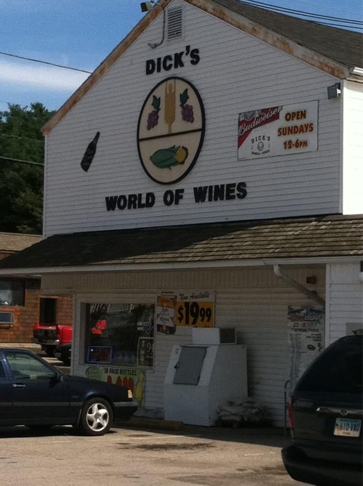 Dick's World of Wine: 137 Main St, Westerly, RI