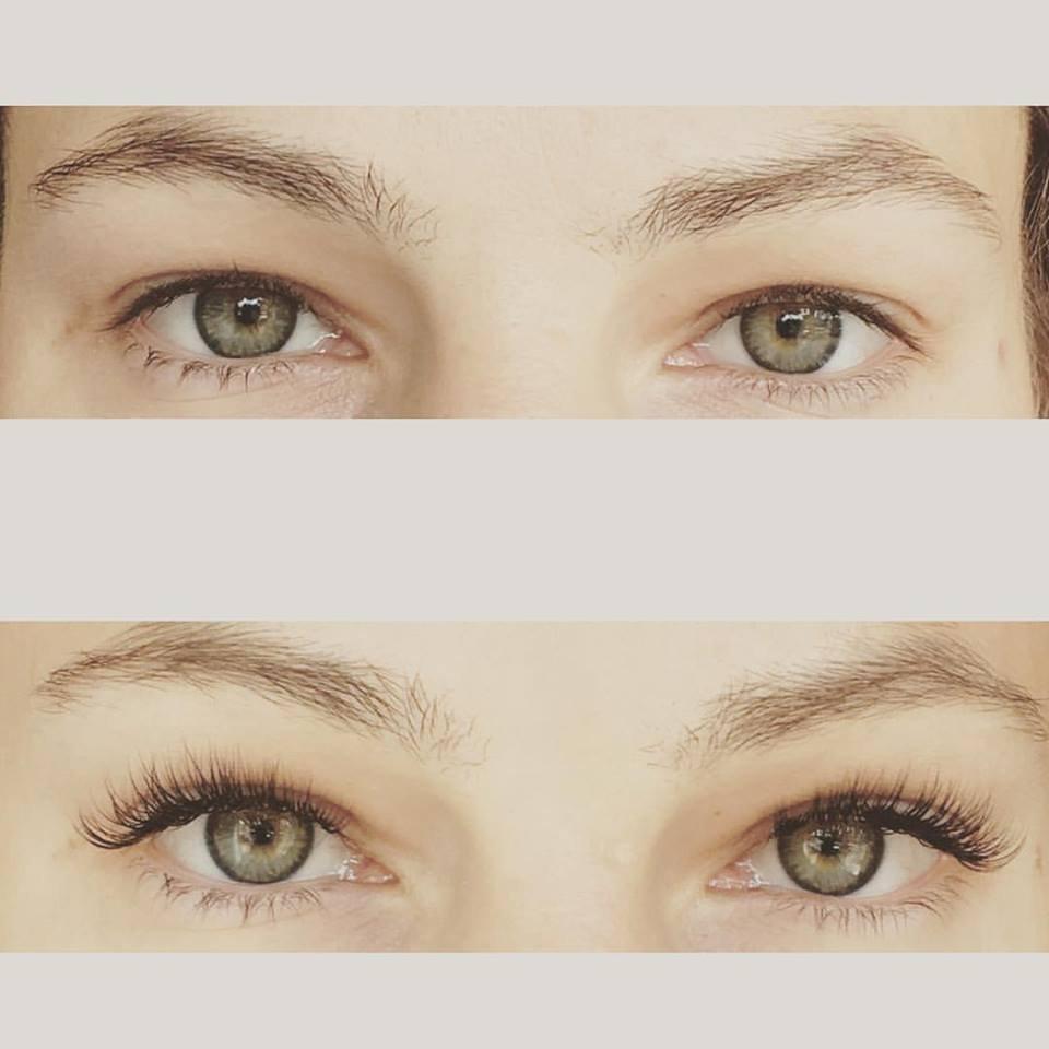 Full Set Of Classic Eyelash Extensions