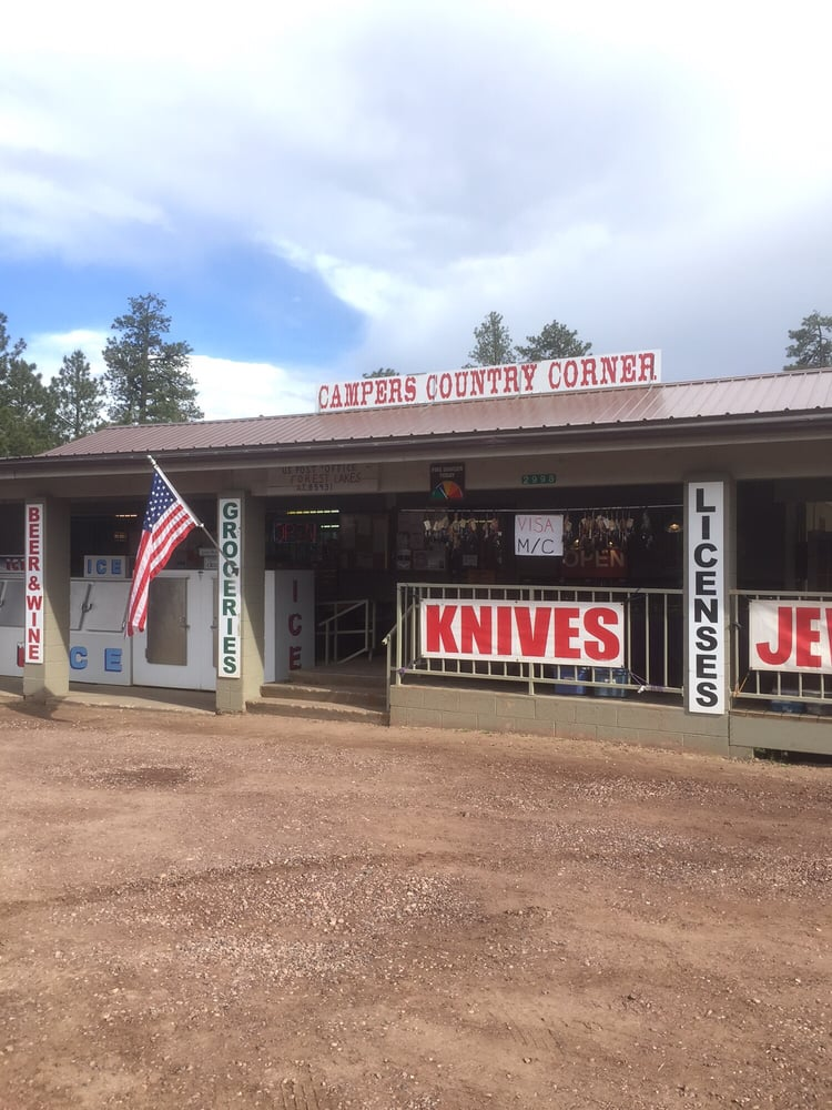 Campers Country Corner: 889 Spring Loop Rd, Forest Lakes Estates, AZ