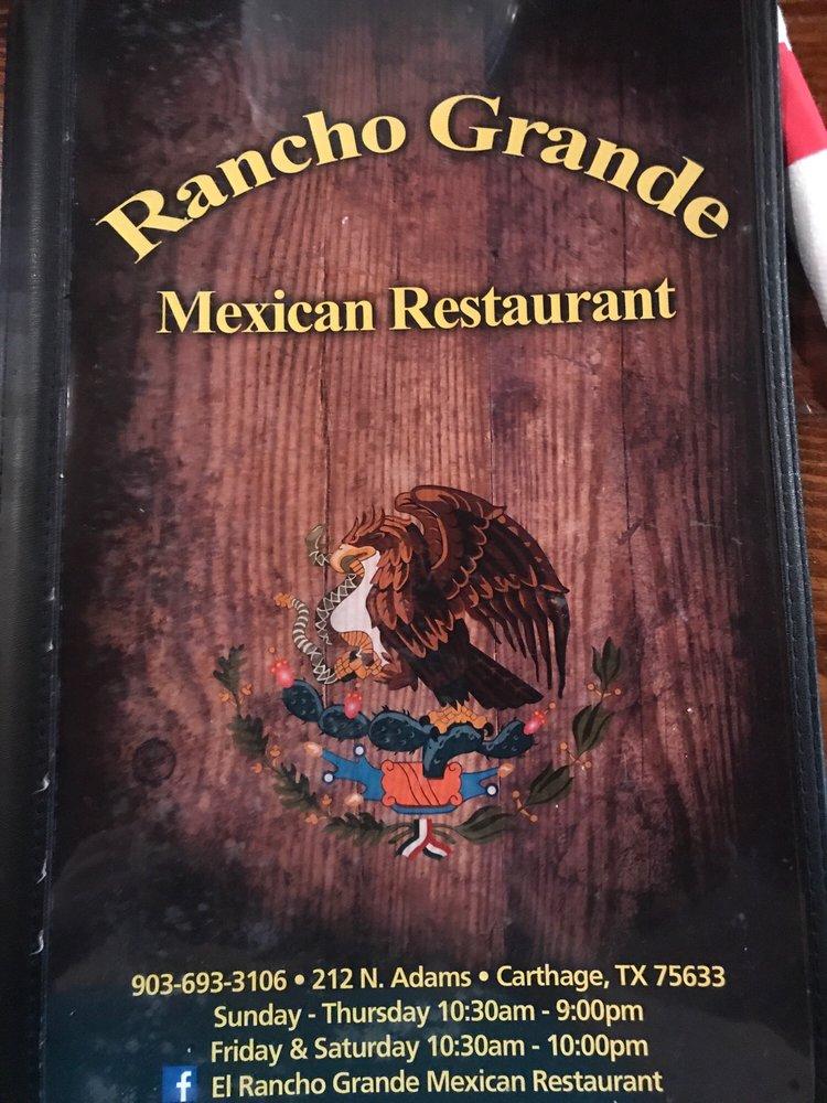 El Rancho Grande: 212 N Adams St, Carthage, TX
