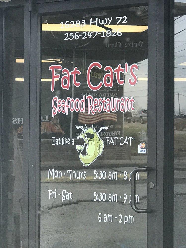 Fat Cat's Seafood Restaurant: 16283 Highway 72, Rogersville, AL