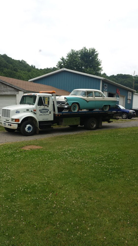 Towing business in Dansville, NY