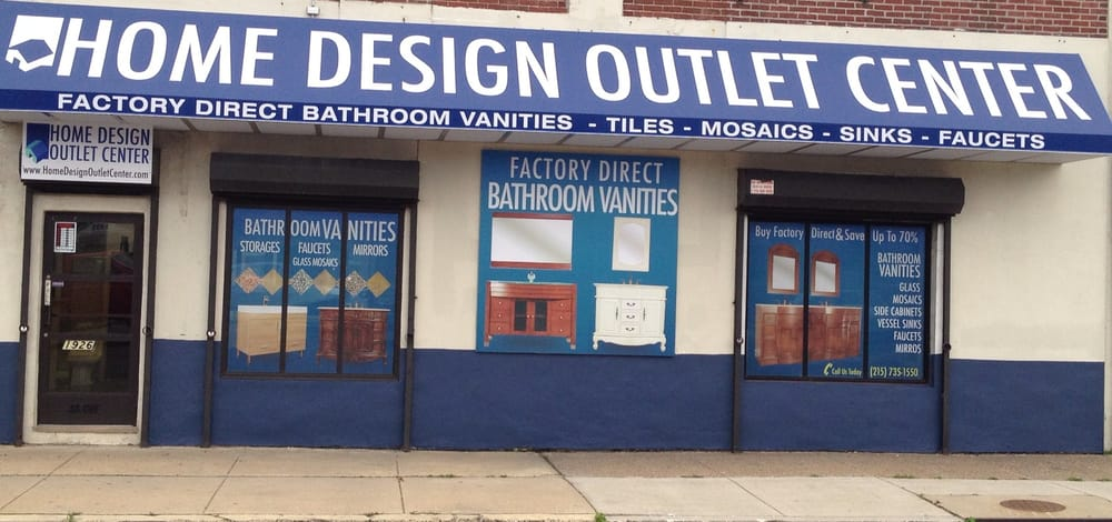 Home design outlet center closed kitchen bath 1926 washington ave graduate hospital Bathroom design centers philadelphia