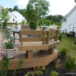 Photo Of Evergreen Fence Deck Brookeville Md United States