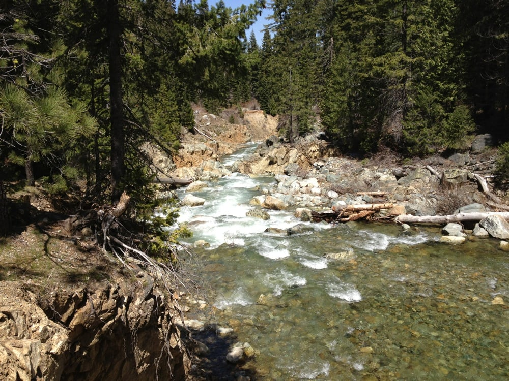 Jamison Creek Lower Falls Trail: Johnsville, CA