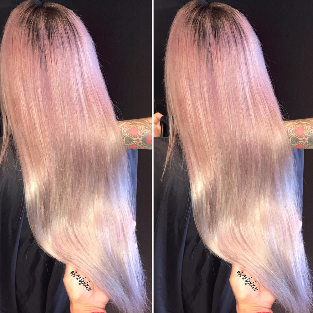 Kisses Of Lavender I Tip Hair Extensions Instagram Hairbyenda Yelp