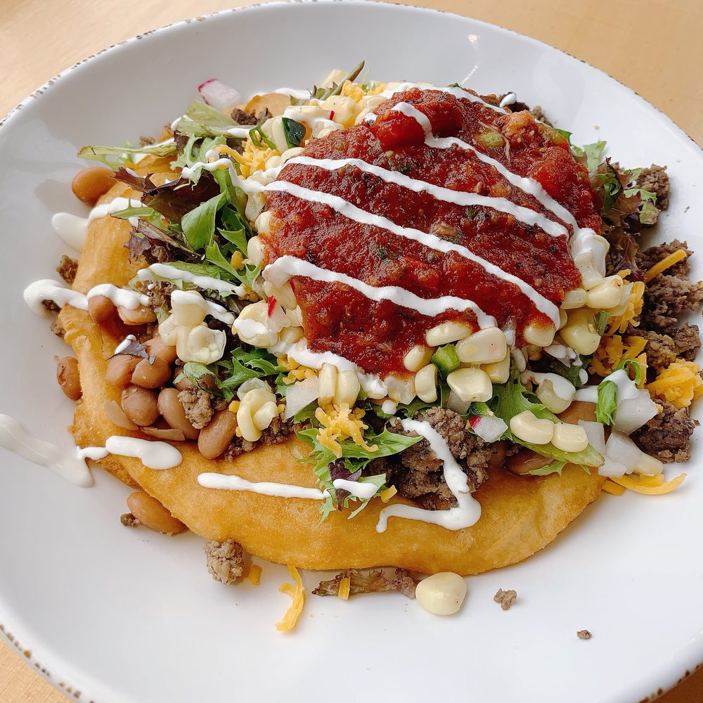 Food from Tocabe, An American Indian Eatery