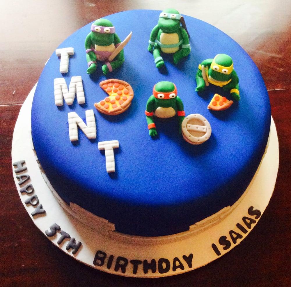 Ninja Turtles Kids Birthday Cake