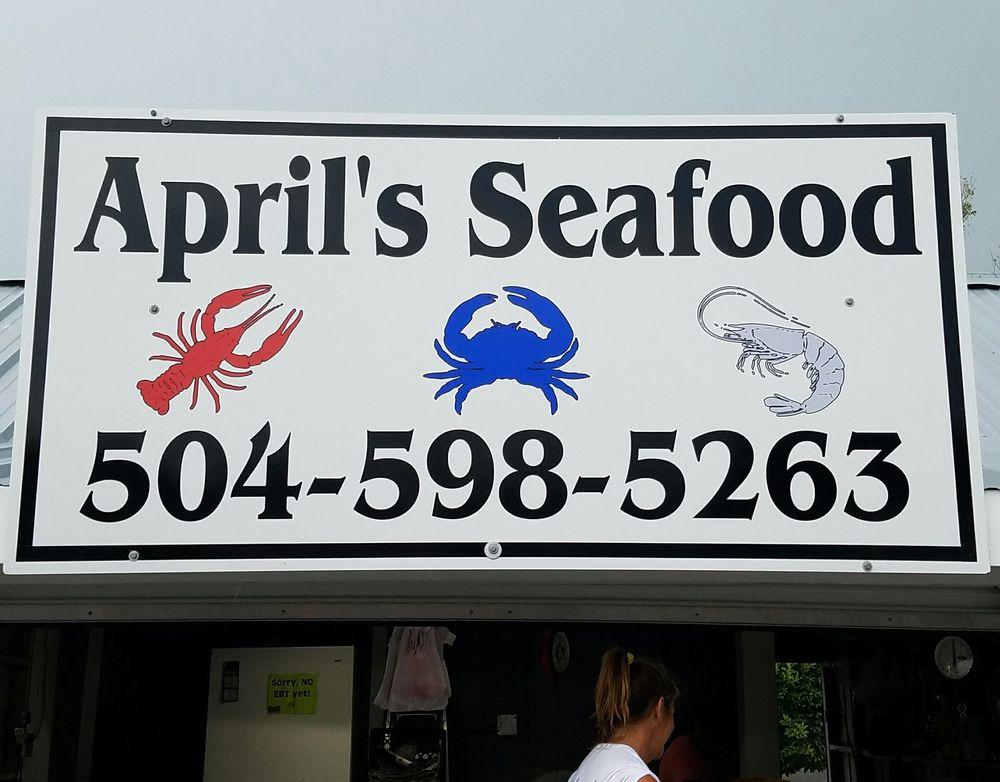 April's Seafood: 100 Westbank Expy, Westwego, LA