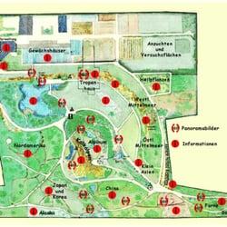 Garten Osnabrück botanischer garten park grünanlage albrechtstr 29 osnabrück