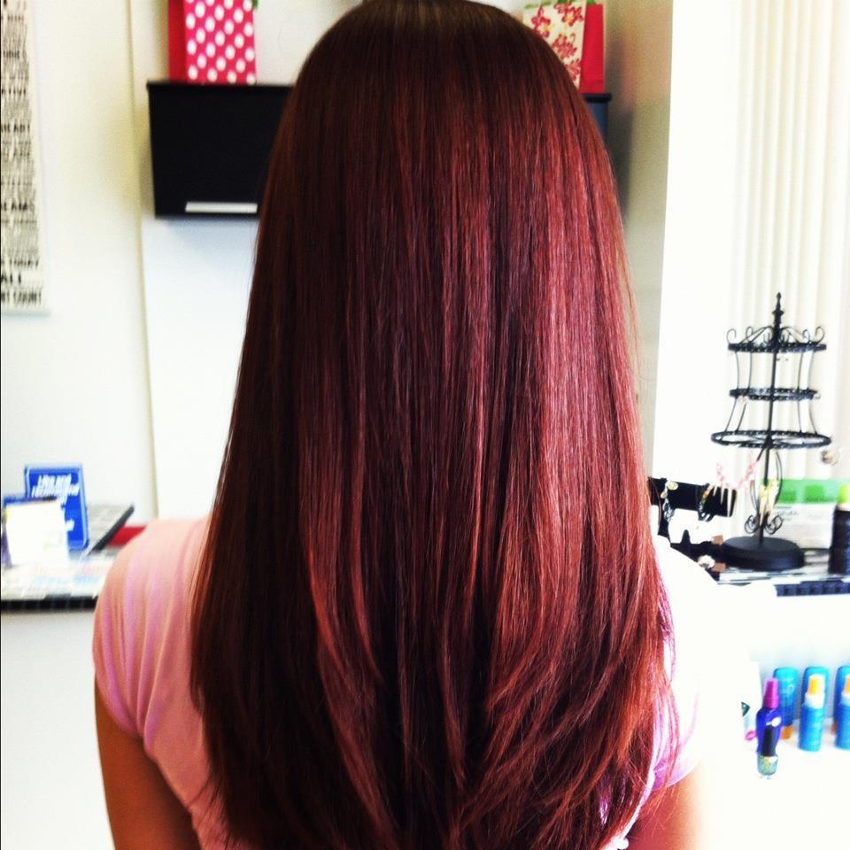 Marsala Hair Color